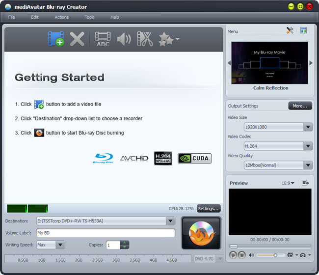 convert and burn videos to DVD