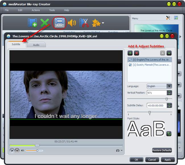 mediAvatar Blu-ray Creator