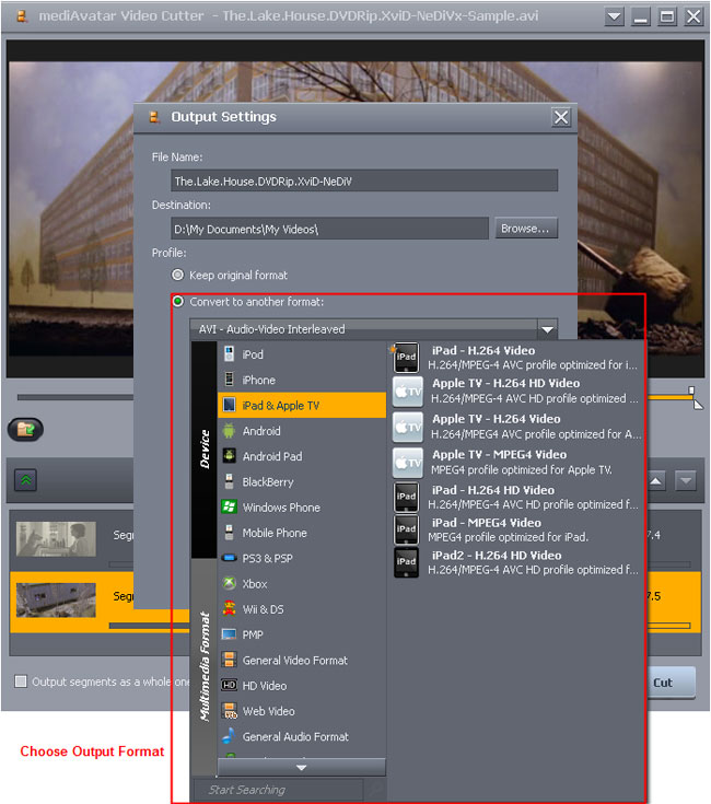 how to cut a mp4 video to mp3
