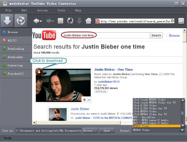 Youtube video converter free download online.